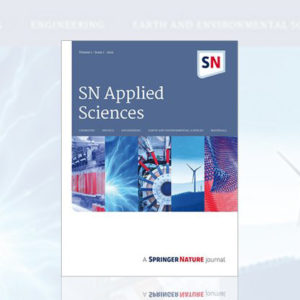 SN Applied Science Cover