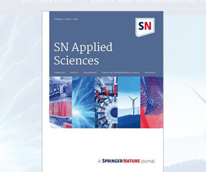 Prof. Sain Invited Editor For SN Applied Science Special Issues On Biomass and Biocomposites